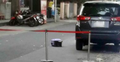 Thi thể thai nhi trong vali trên đường Sài Gòn