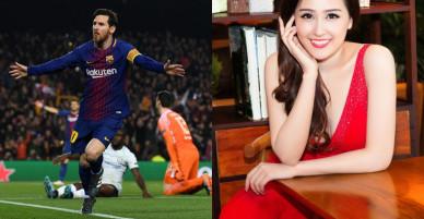 Hoa hậu quốc dân Mai Phương Thúy ghét Messi đến mức nào?