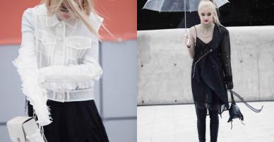 Fung La gây ấn tượng bằng phong cách cá tính tại Seoul Fashion Week