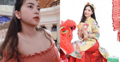 Bạn gái Quang Hải U23 'lên hương' nhan sắc, ngày càng xinh đẹp, mặn mà