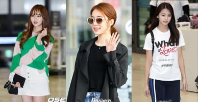 Kim So Hyun chiếm hết spotlight của TWICE, mỹ nhân Goblin và Kang Daniel biến sân bay thành sàn diễn