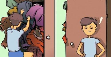 Bộ tranh: Đừng vội chê con gái khó hiểu khi con trai còn kì lạ hơn rất nhiều