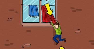 Cách sống sót khi rơi xuống từ cửa sổ