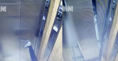 Cậu bé 11 tuổi phá hỏng cửa thang máy chỉ bằng một cú duỗi nhẹ chân