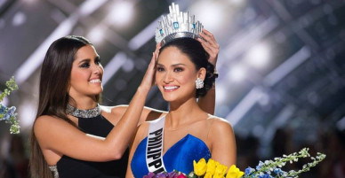 Hoa hậu Hoàn vũ 2015 Pia Wurtzbach đến thăm Việt Nam vào ngày 14/4