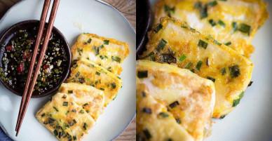 [Chế biến] – Thổi bay nồi cơm với món đậu phụ chiên trứng vừa giòn vừa mềm mịn