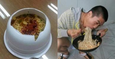 Những kiểu ăn mỳ tôm 'bá đạo' nhất trên thế giới