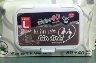 """Khăn giấy ướt Lotte Mart chứa chất độc hại: Vì sao Lotte """"dũng cảm"""" công khai thành phần gây hại trên bao bì?"""