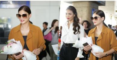Pia Wurtzbach - Hoa hậu Hoàn vũ từng bị trao nhầm vương miện rạng rỡ tại sân bay Việt Nam