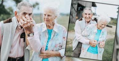 Bộ ảnh kỷ niệm tình yêu kéo dài gần 7 thập kỷ của đôi vợ chồng già khiến người xem thổn thức
