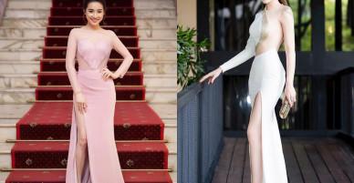 Đầu hè, mỹ nhân Việt lăng-xê váy xẻ cao 'bất tận'