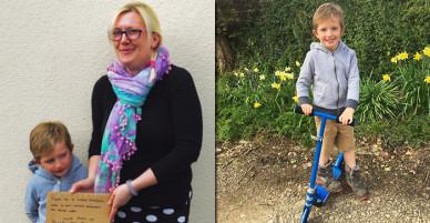 Cậu bé 6 tuổi tặng chiếc xe vô cùng yêu thích cho người lạ: Khi niềm vui không đến từ tích lũy…