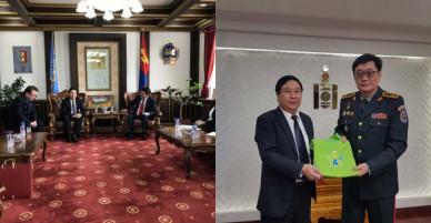 Việt Nam-Mông Cổ thống nhất các nội dung của Hiệp định chuyển giao người bị kết án phạt tù