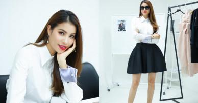 Phạm Hương tuyển người mẫu cho show thời trang cá nhân