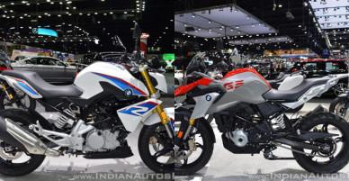 Bộ đôi BMW G310R và G310GS sắp đổ bộ thị trường Việt