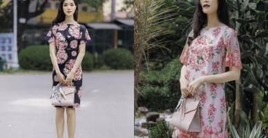 Hoa hậu Thùy Dung gợi ý chọn váy hoa cho nàng công sở