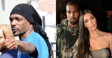 Snoop Dogg chửi xéo Kim Kardashian hại chồng Kanye West ngày càng xuống dốc