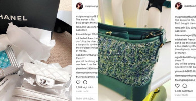 Mai Phương Thúy sắm liền tay ba chiếc túi Chanel