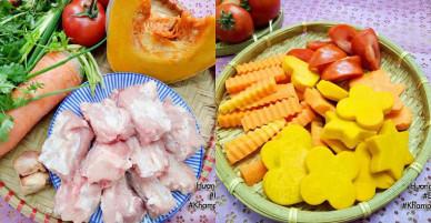 [Chế biến] – Cách nấu canh bí đỏ thơm ngon, bổ dưỡng cả nhà đều khen ngon