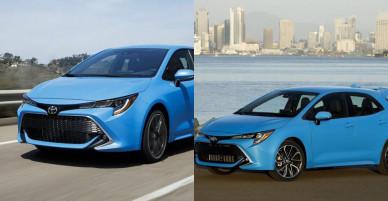 Ngắm Toyota Corolla 2019: Đối thủ của Honda Civic và Chevrolet Cruze hatchback