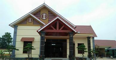 Đại uý công an ở Thanh Hoá xây nhà không phép trên đất nông nghiệp