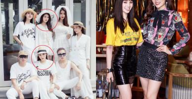Chơi càng thân, Kỳ Duyên và Hoa hậu 'con nhà giàu' Jolie Nguyễn ngày càng giống nhau đến ngỡ ngàng