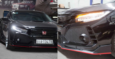 Honda Civic 2017 độ khủng tại Sài Gòn, gói độ gần 500 triệu đồng