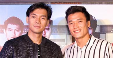 Tiến Dũng, Đức Chinh U23 đi xem phim về bóng đá Việt