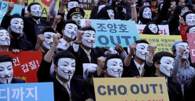 Nhân viên hãng Korean Air xuống đường biểu tình, kêu gọi chủ tịch từ chức