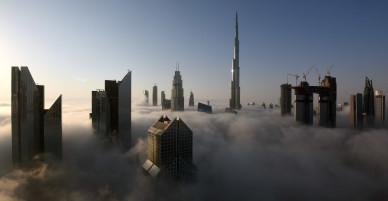 [CHÙM ẢNH] Hé lộ những hình ảnh đầu tiên của toà tháp cao nhất thế giới