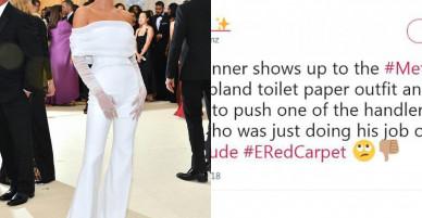 Scandal chảnh chọe gây xôn xao nhất Met Gala: Kendall đẩy nhân viên ra xa vì xâm phạm chỗ chụp ảnh của cô