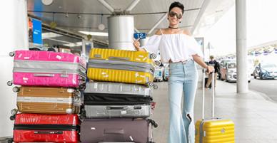 Hoa hậu HHen Niê lần đầu đi nước ngoài bằng máy bay