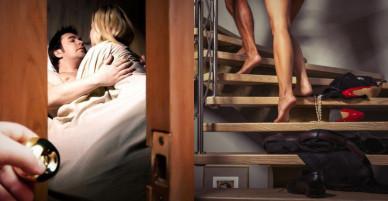 Chồng đi làm về lúc nửa đêm thì phát hiện vợ đưa trai lạ đến nhà, phản ứng của anh khiến cả vợ và gã nhân tình xấu hổ không biết giấu mặt đi đâu