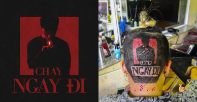 """Fan Sơn Tùng MTP tạo kiểu tóc """"Chạy ngay đi"""" trước ngày MV ra mắt"""