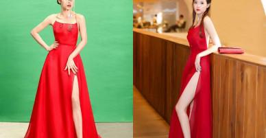 Bích Phương đụng đầm đỏ với mỹ nữ Vbiz trong MV mới, ai đẹp hơn ai?