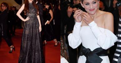 Lý Nhã Kỳ sánh bước cùng minh tinh Marion Cortilla trên thảm đỏ Cannes ngày 5