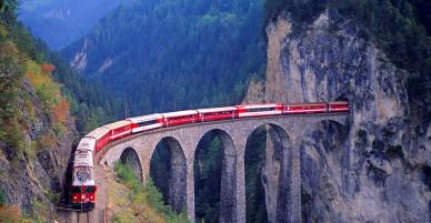Những đường ray xe lửa độc đáo nhất thế giới: đẹp nhưng nguy hiểm vô cực