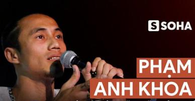 NÓNG: Phạm Anh Khoa bất ngờ gặp báo chí, sẵn sàng nói tất cả về scandal gạ tình