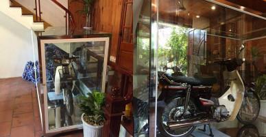 Xôn xao Honda Dream II để trong tủ kính giá vài lô đất Hà Nội