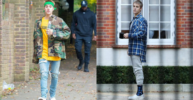 Justin Bieber sang Anh sống, thuê nhà 132.000 USD một tháng