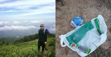 Một số dấu vết nghi của nam phượt thủ mất tích khi leo núi Tà Năng- Phan Dũng