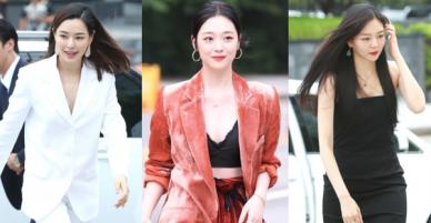 Sulli trở lại đẹp xuất sắc với màn hở ngực táo bạo, chấp cả Hoa hậu Hàn đẹp nhất thế giới và chị đại Kim Hye Soo