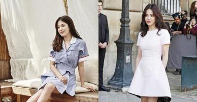 Chỉ trung thành với giày màu nude, nhưng hóa ra đây là cách mà Song Hye Kyo diện đẹp mọi bộ đồ