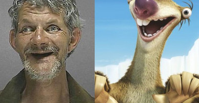 Không thể nhinj cười: Tù nhân Mỹ xộ khám - kẻ chỉ có 3 răng, người thì y chang con lười trong phim Ice Age