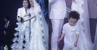 Tuấn Hưng cùng vợ con đến chúc mừng Lâm Vũ cưới vợ Việt Kiều