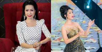 Á hậu Trịnh Kim Chi không muốn nhắc lại chuyện tình cũ với Quyền Linh