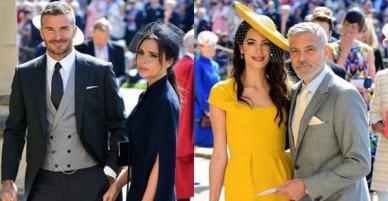 Loạt khoảnh khắc đẹp như mơ của vợ chồng Beckham và dàn sao Hollywood tại đám cưới Hoàng tử Harry