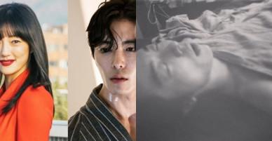 """Mỹ nhân """"Hoa du ký"""" gây xôn xao vì lỡ tay đăng ảnh tài tử Kim Jae Wook ngủ cởi trần che mỗi mảnh vải"""