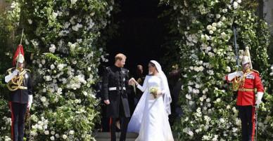 Dù đã qua đời từ lâu, nhưng bóng dáng cố Công nương Diana vẫn tràn ngập trong hôn lễ của con trai