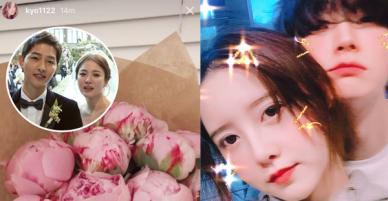 Rần rần khi Song Hye Kyo khoe ảnh hoa ông xã tặng, cùng vợ chồng nàng cỏ đăng ảnh kỷ niệm một ngày đặc biệt